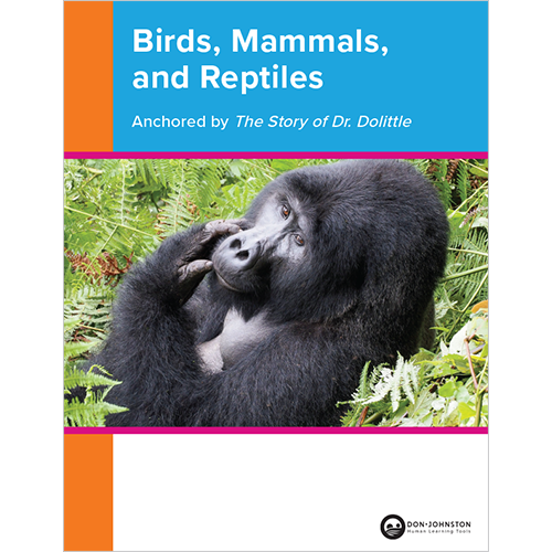 Birds, Mammals, and Reptiles guide cover for print center