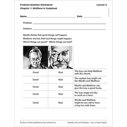 Empathy, Grit, and Kindness comprehension worksheets