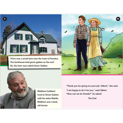 Anne of Green Gables conventional level 5 graphic novel booklet
