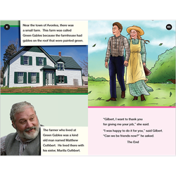Anne of Green Gables conventional level 6 graphic novel booklet
