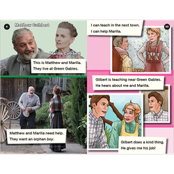 Anne of Green Gables emergent level 1 graphic novel booklet
