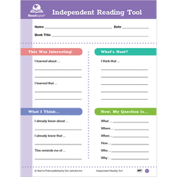Independent reading tool