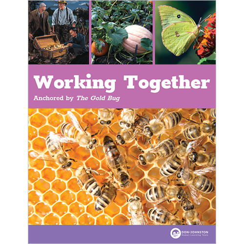 Working Together guide cover for print center